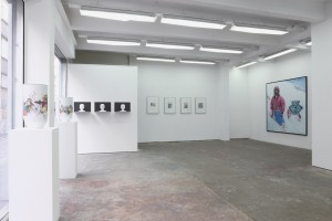 Exhibition view, Scrawitch Gallery, photo Michel Martzloff