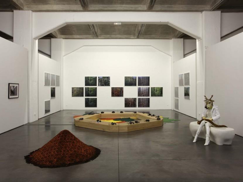 Exhibition view, FRAC Aquitaine, 2010