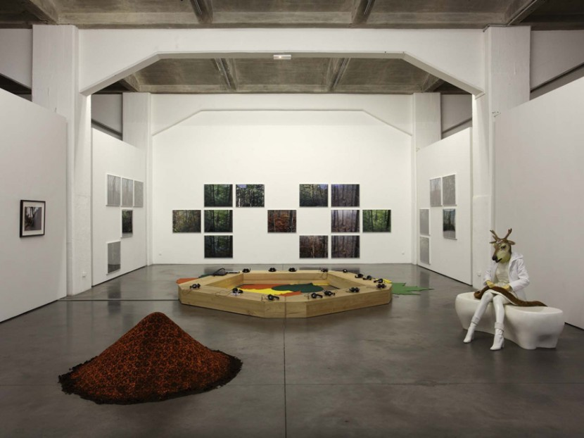 Exhibition view, FRAC Aquitaine, 2010