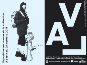 MAC VAL exhibition poster, The Vertigo Effect