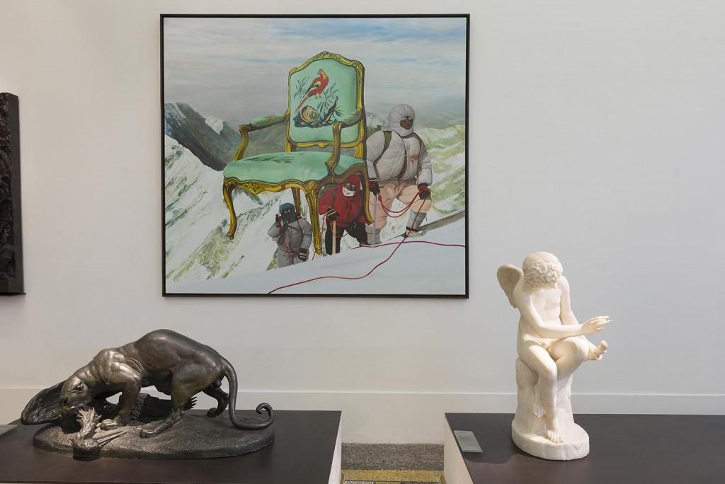 Nathalie Talec, « In search of the miraculous », Musée de Picardie, oeuvres de Nathalie Talec exposées dans La salle des sculptures du XIXe et XXe siècles