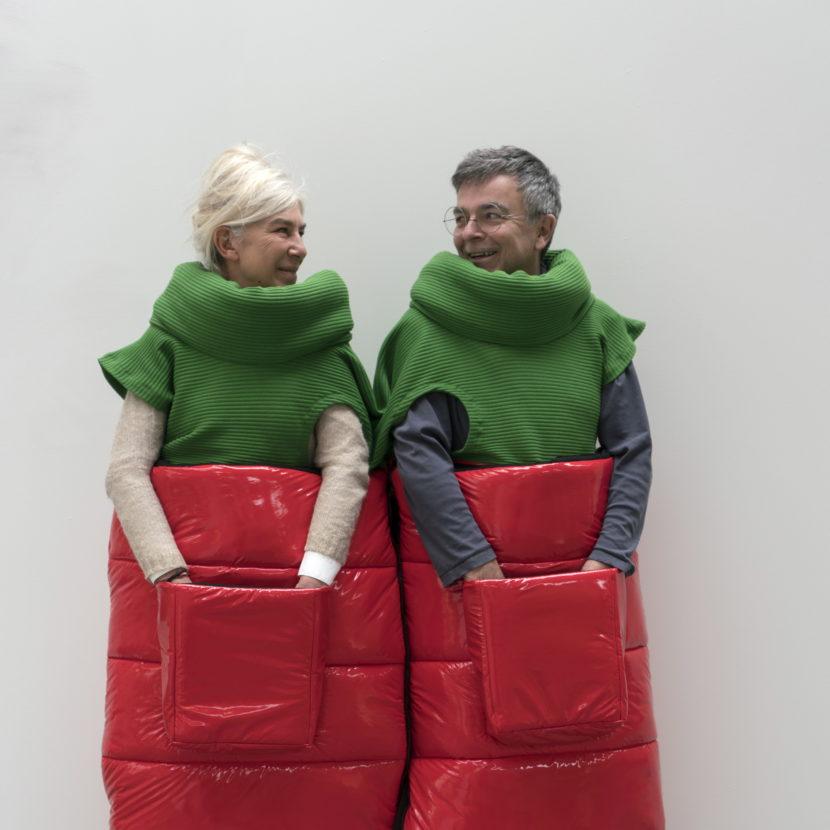 Exposition Coup de foudre, duo Fabrice Hyber/Nathalie Talec, Fondation EDF, Paris, 14 mars-20 octobre 2019