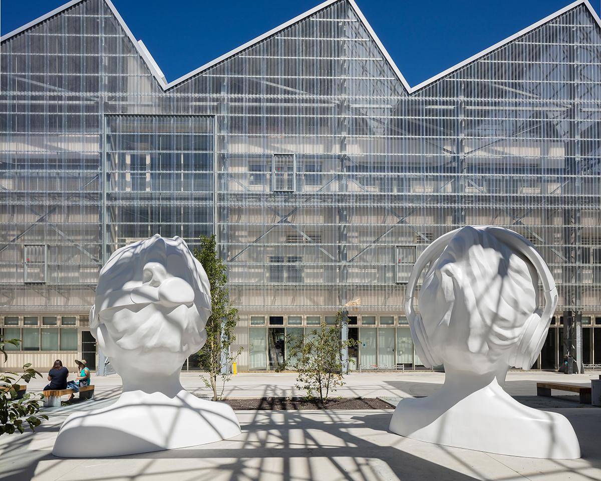 In a Silent Way, Nathalie Talec, Quartier de la création, Le Voyage à Nantes © Philippe Piron _ Lvan, Adagp