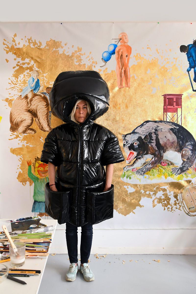 Nathalie Talec, portrait, photo Bernard Saint-Genes pour Connaissance des arts, septembre 2020